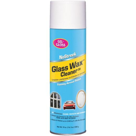 Gel-Gloss 19 Oz. Glass Wax Cleaner Aerosol